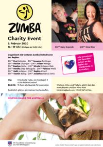 Zumba charity - Tanzen für Australien @ Fritz-Beltz-Halle | Friedrichsdorf | Hessen | Deutschland